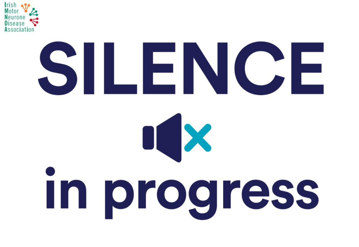 #Voice4MND Silence in progress poster