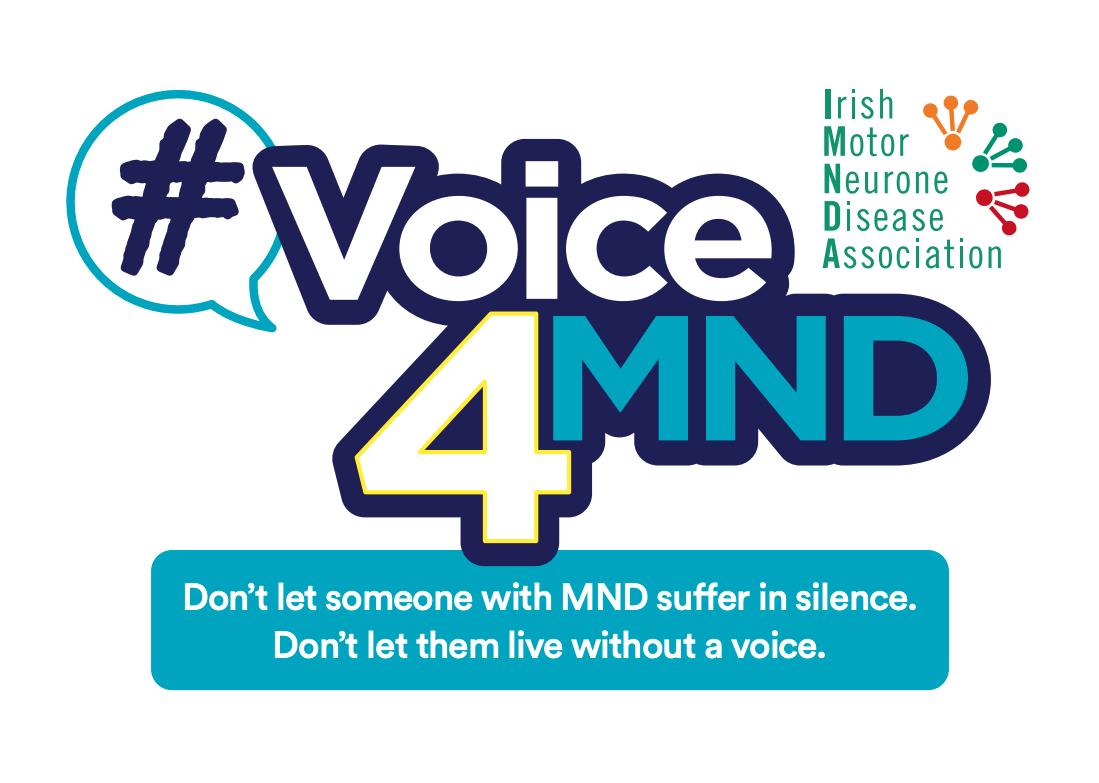 #Voice4MND Banner